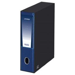 Registratore protocollo Unico con chiusura Favorit Dorso 5 23x33 cm blu 06500814